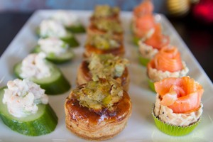 Hot and Cold Canapes
