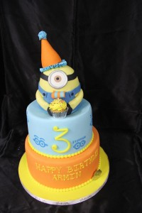 Minion Birthday Hat
