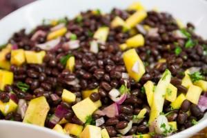 Black Bean and Mango