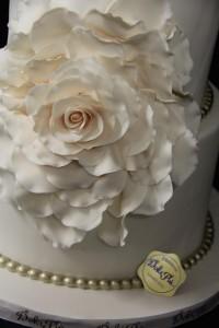Wedding Flower Cake